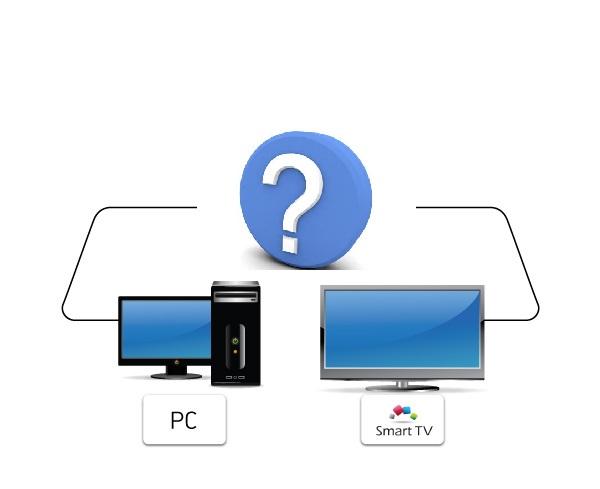 как подключить ноутбук к телевизору.