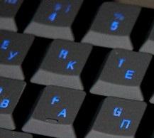 На ноутбуке вместо букв цифры