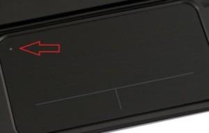отключение тачпада кнопкой