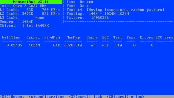 программа Memtest86