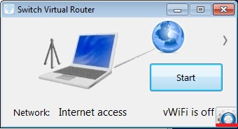 Switch Virtual Router точка доступа