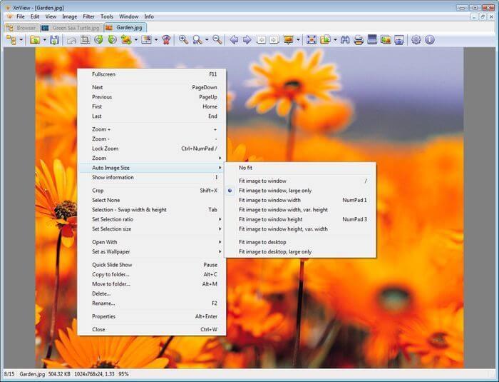 XnView программа для просмотра фотографий