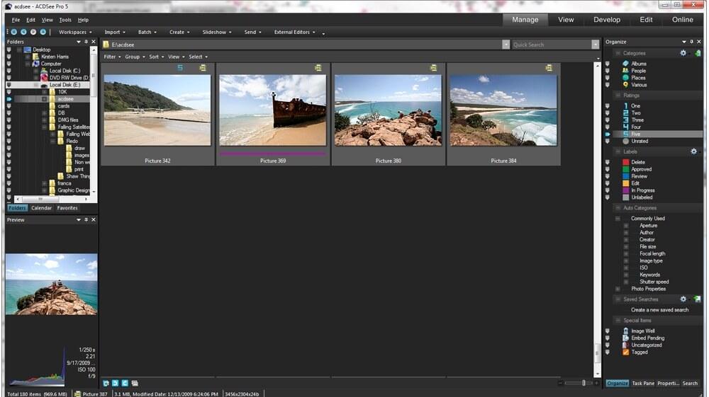 Программы для просмотра фотографий ACDSee