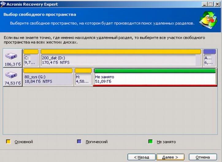 Программа для восстановления жесткого диска