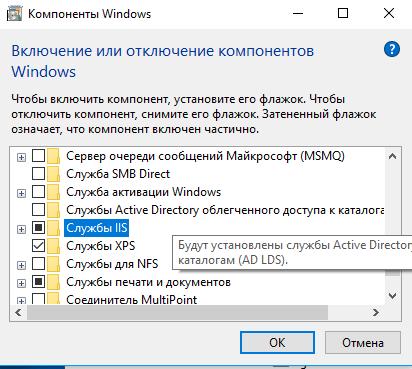 iis windows 10