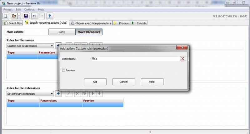 переименование файлов и папок