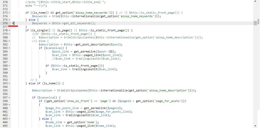Как отключить Keywords в плагине  Platinum Seo Pack
